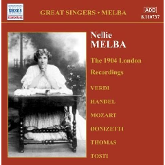 Nellie Melba - Complete Gramophone Company Recordings - Vol.1 (CD)