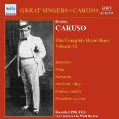 Caruso - Complete Recordings - Vol.12 (CD)