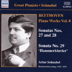 Beethoven - Pf Works Vol 8;Schnabel (CD)