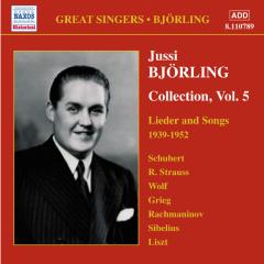 Jussi Bjorling - Bjorling Collection 5 (CD)