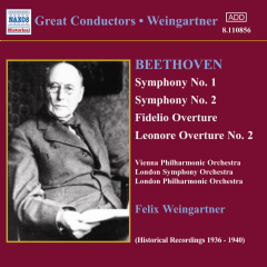 Beethoven - Great Conductors;Weingartner (CD)