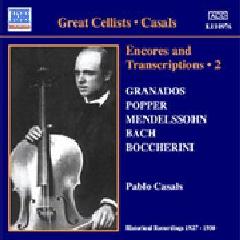 Bach/Beethoven/Dvorak/Schumann/Mendelsoh - Encores And Transcriptions 2;Casals (CD)