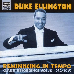 Duke Ellington - Reminiscing In Tempo - Vol.3 1932-35 (CD)