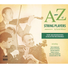 David Milsom, Various Artists - A-Z Of String Players (CD)