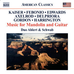 Music For Mandolin And Guitar - Music For Mandolin And Guitar (CD)