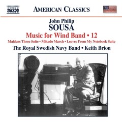 Royal Swedish Navy Band - Music For Wind Band - Vol.12 (CD)