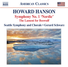 Hanson / Seattle Sym / Schwarz - Symphony 1 Nordic / Lament For Beowulf (CD)