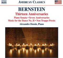 Alexandre Dossin (piano) - Thirteen Anniversaries / Piano Sonata / Seven Anniversaries / Mus (CD)