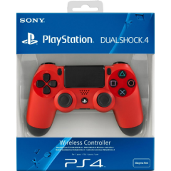 PS4 Dual Shock 4 Red (PS4)