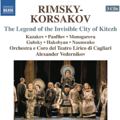 Rimsky-korsakoff: City Of Kitezh - Legend Of The Invisible City Of Kitezh (CD)