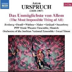 Orchestra Of he Sorbian National Assembly - Das Unmoglichste Von Allem (CD)
