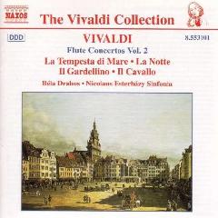 Bela Drahos - Flute Concertos - Vol.2 (CD)