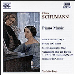 Schumann Clara - Piano Music (CD)