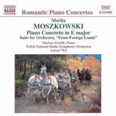 Moszkowski - Piano Concerto Op. 59 (CD)