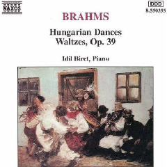 Idil Biret - Hungarian Dances / Waltzes Op. 39 (CD)