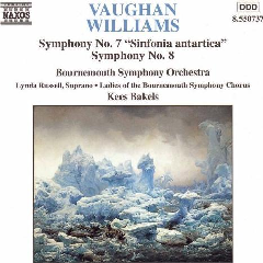 Russell / Waynflete Singers / Bournemouth Symphony Orchestra - Symphonies Nos. 7 Sinfonia Antartica & 8 (CD)