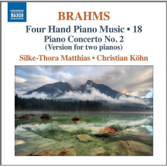 Matthies, Silke-Thora - Four-Hand Piano Music - Vol.18 (CD)