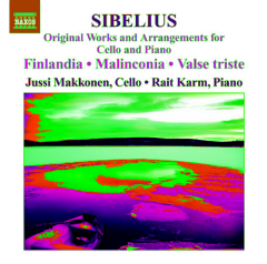 Sibelius: Finlandia - Original Works And Arrangements For Cello And Piano (CD)