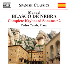Blasco De Nebra: Keyboard Sonatas Vol2 - Keyboard Sonatas Vol 2 (CD)