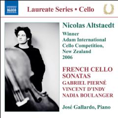 French Cello Sonatas - Various Artists (CD)
