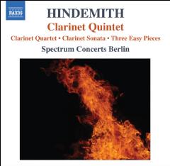 Hindemith: Clarinet Quintet - Clarinet Quintet (CD)