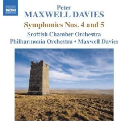 Scottish Co/maxwell Davies - Symphonies Nos.4 & 5 (CD)