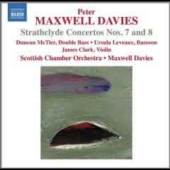 Scottish Chamber Orchestra - Strathclyde Concerto Nos.7 & 8 (CD)