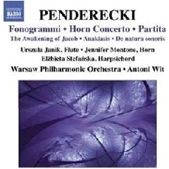 Penderecki:Fonogrammi;Horn Cto;Partit - (Import CD)