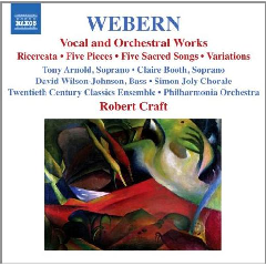 Webern:Vocal & Orchestral Works - (Import CD)