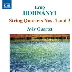 Dohnanyi - String Quartets Nos.1 & 3 (CD)