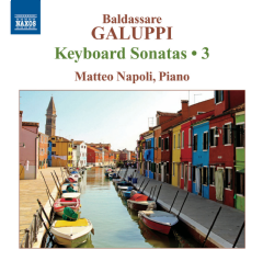 Matteo Napoli - Keyboard Sonatas - Vol.3 (CD)