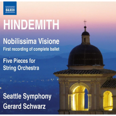 Seattle So, Gerard Schwarz - Nobilissima Visione / Five Pieces For String Orchestra, Op.44, No.4 (CD)