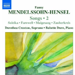 Mendelssohn Hensel:Songs Vol 2 - (Import CD)