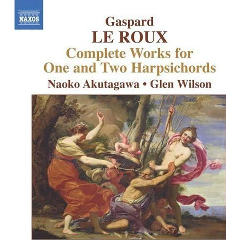 Le Roux - Complete Works For 1 & 2 Harpsichords (CD)