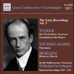 Furtwangler Early Recordings - Early Recordings (CD)