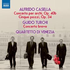 Quartetto Di Venezia - Concerto, Op.40 /  Concerto Breve (CD)