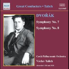 Dvorak - Dvorak: Sym Nos 7&8 (CD)