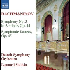 Rachmaninov:Sym N3 in a Minor/Sym Dan - (Import CD)
