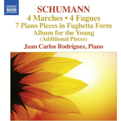 Rodriguez, Juan Carlos - Marches / Fugues / Piano Pieces (CD)