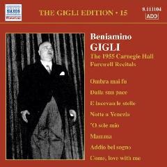 Fedri, Dino / Gigli, Beniamino - Gigli - Vol.15 (CD)
