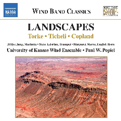 University Of Kansas Wind Ensemble - Landscapes (CD)