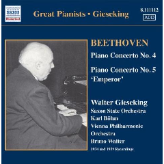 Gieseking Walter - Concerto Recordings - Vol.3 (CD)