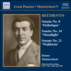 Beethoven Ludwig - Piano Sonatas Nos. 8, 14 & 21 (CD)