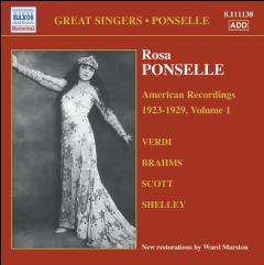 Ponselle Rosa - American Recordings (1897-1981) (CD)
