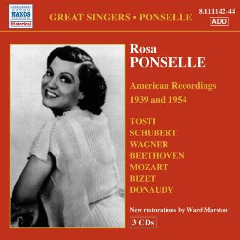 Ponselle: Recordings - Rosa Ponselle (CD - 3 discs)
