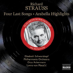 R Strauss - R Strauss: Four Last Songs (CD)