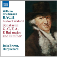 Brown, Julia - Keyboard Works - Vol.4 - Harpsichord Sonatas In G, C, F, A, EFlat Major & E Flat Minor (CD)