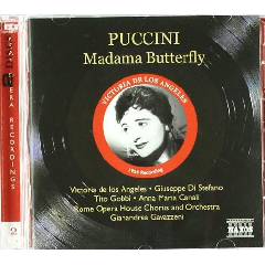Puccini: Madama Butterfly - Madama Butterfly (CD)