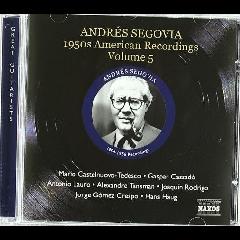 Segovia: American Recordings - 50's American Recordings - Vol.5 (CD)