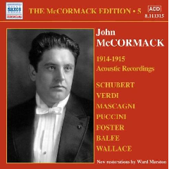 John Mccormack - McCormack Edition - Vol.5 (CD)